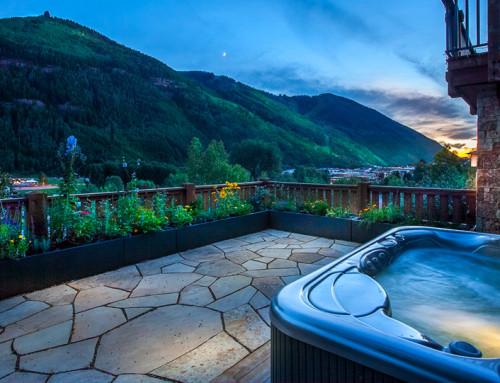 Telluride Colorado Rooftop Garden